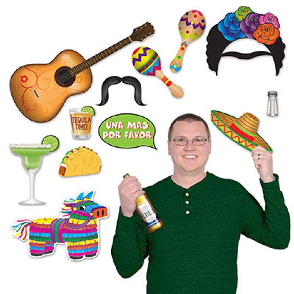 Mexican Fiesta Photo Fun Signs