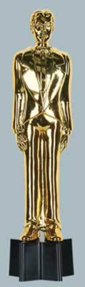 Movie Awards Night Gold Male Statue