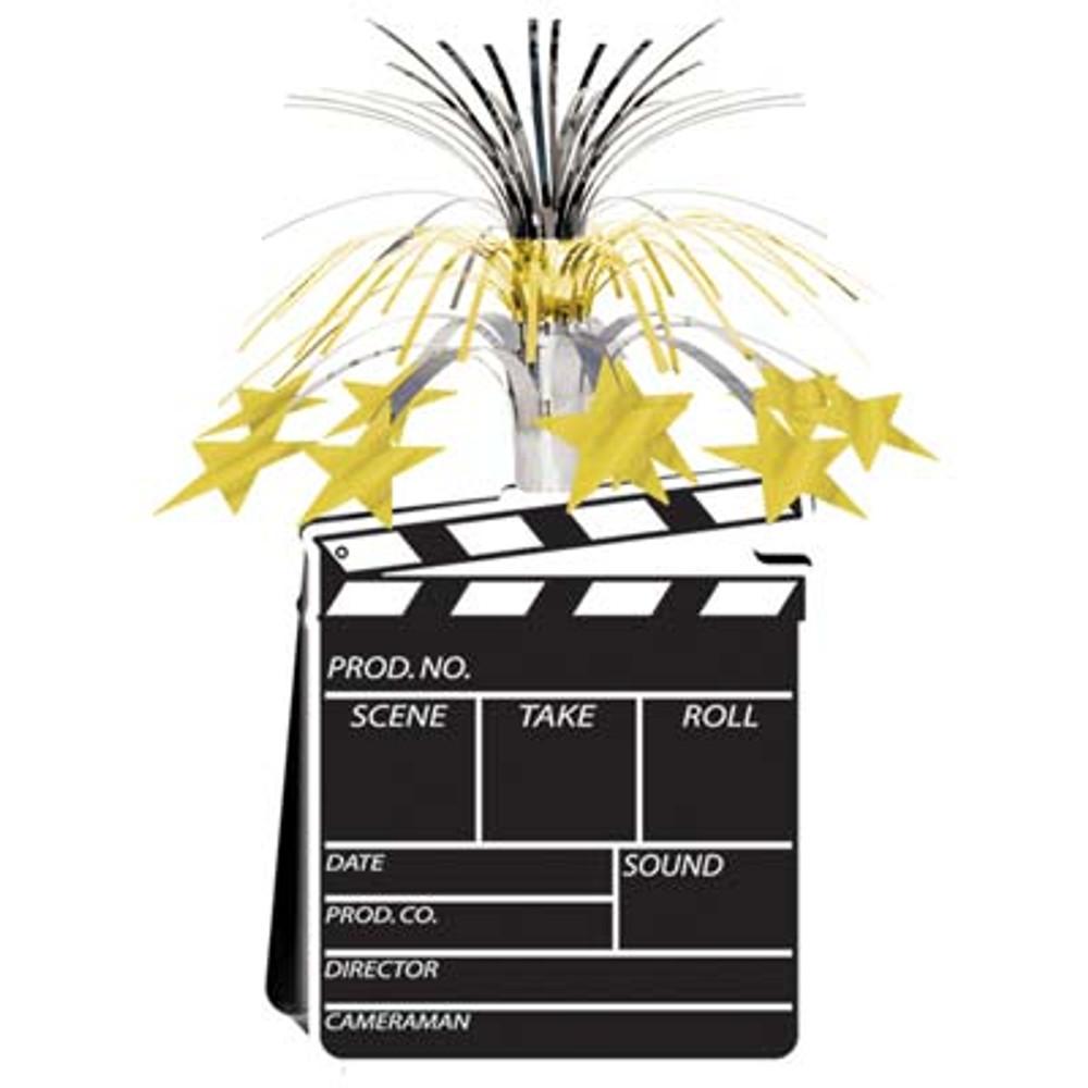 Movie Clapper Board Centre Piece