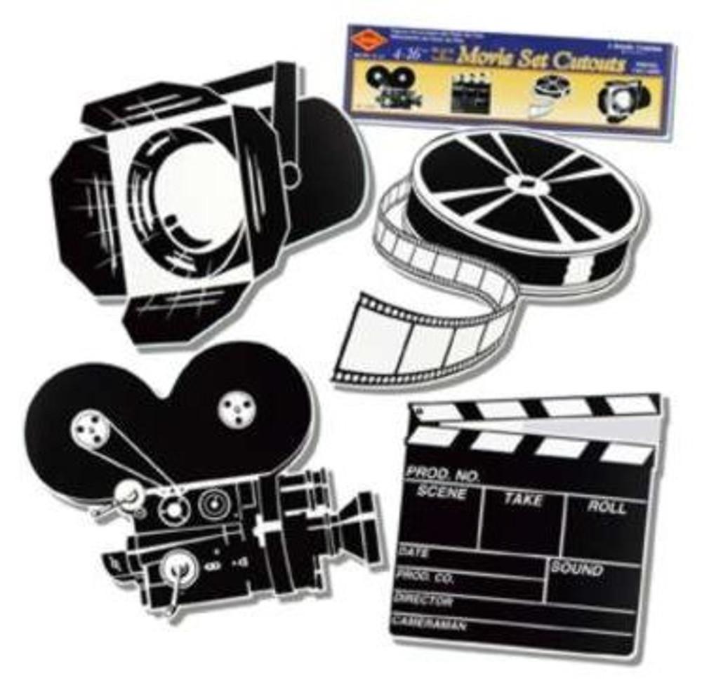 Movie Set Cut Outs