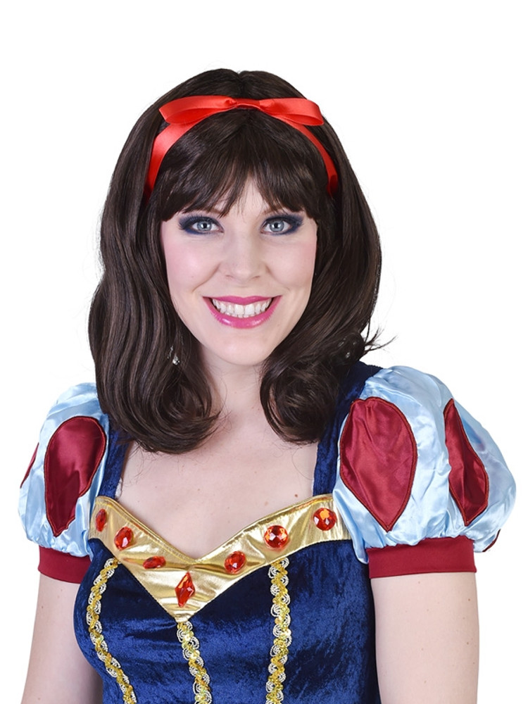 Snow White hair wig disney costumes afterpay disney princess afterpay