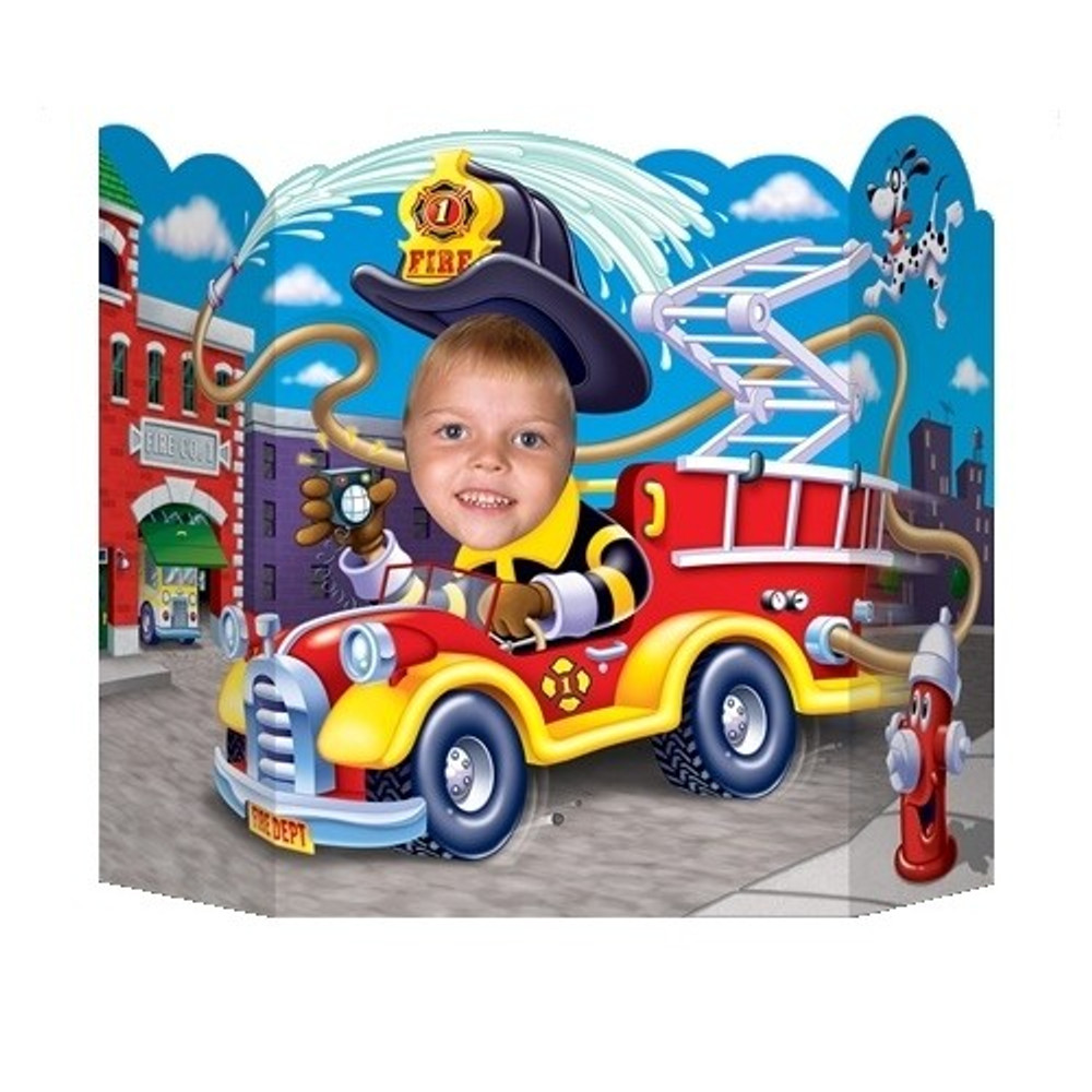 Photo Prop - Fire Truck