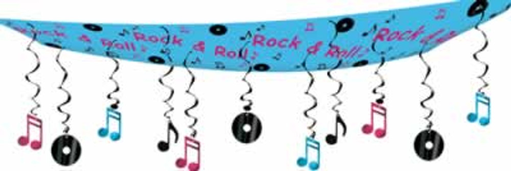 Rock & Roll Ceiling Décor