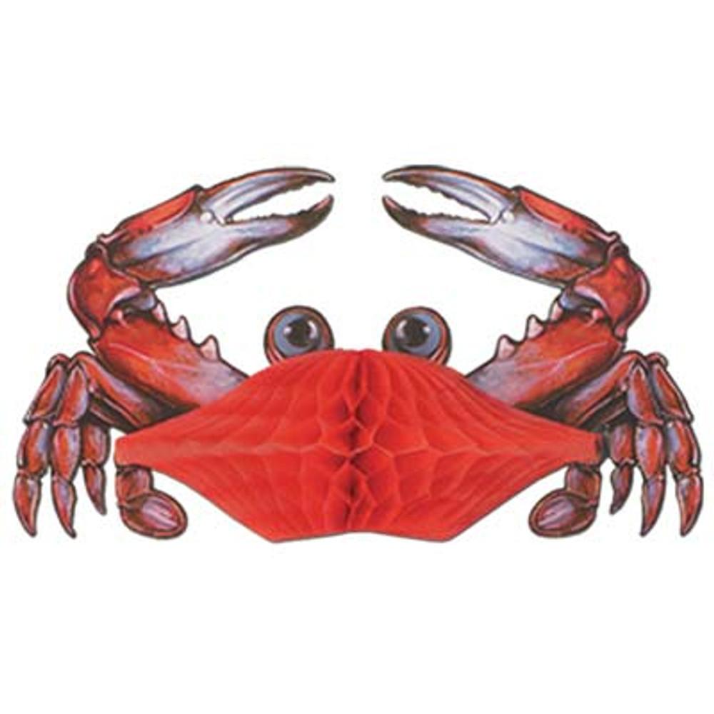 Crab Tissue Decoration