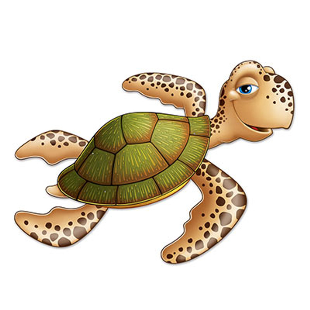 Sea Turtle Jointed Cutout