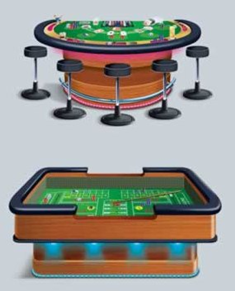 Craps & Blackjack Tables Props