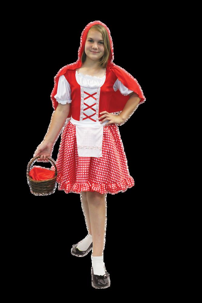 Red Hood Girl Tween