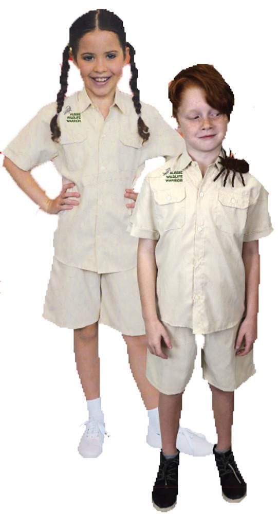 Aussie Wildlife Warrior Kids Costume