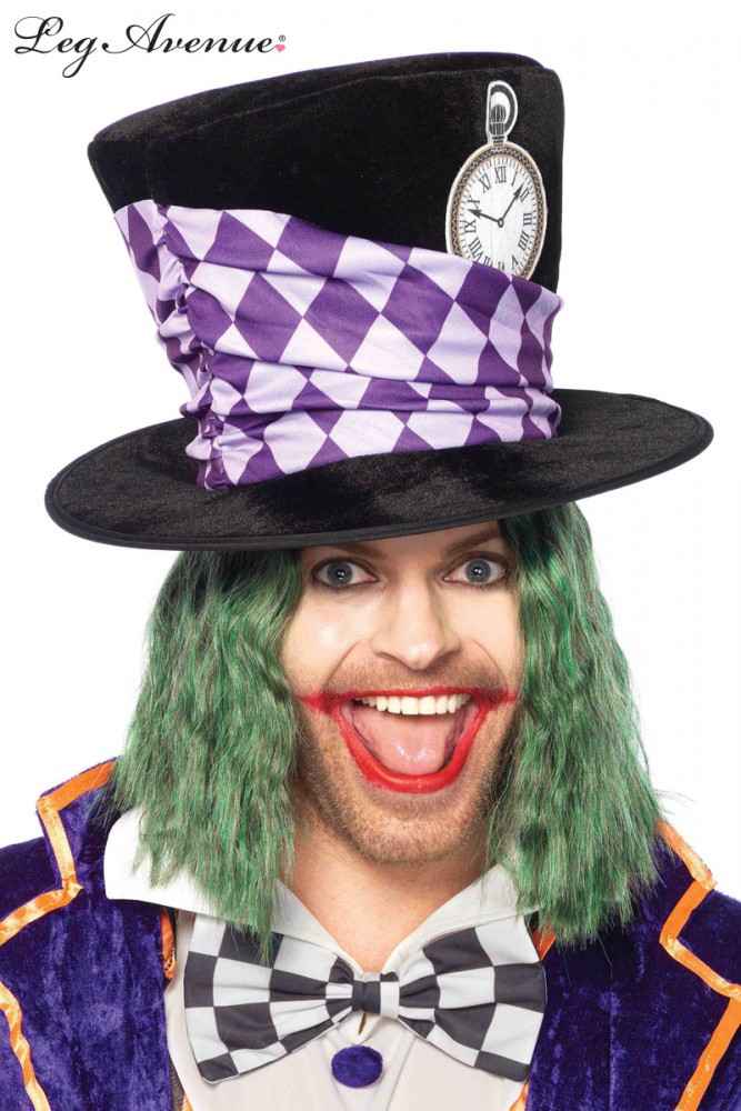 Alice in Wonderland Mad Hatter Top Hat Oversized