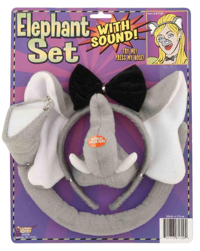Elephant Dress Up Set with sound