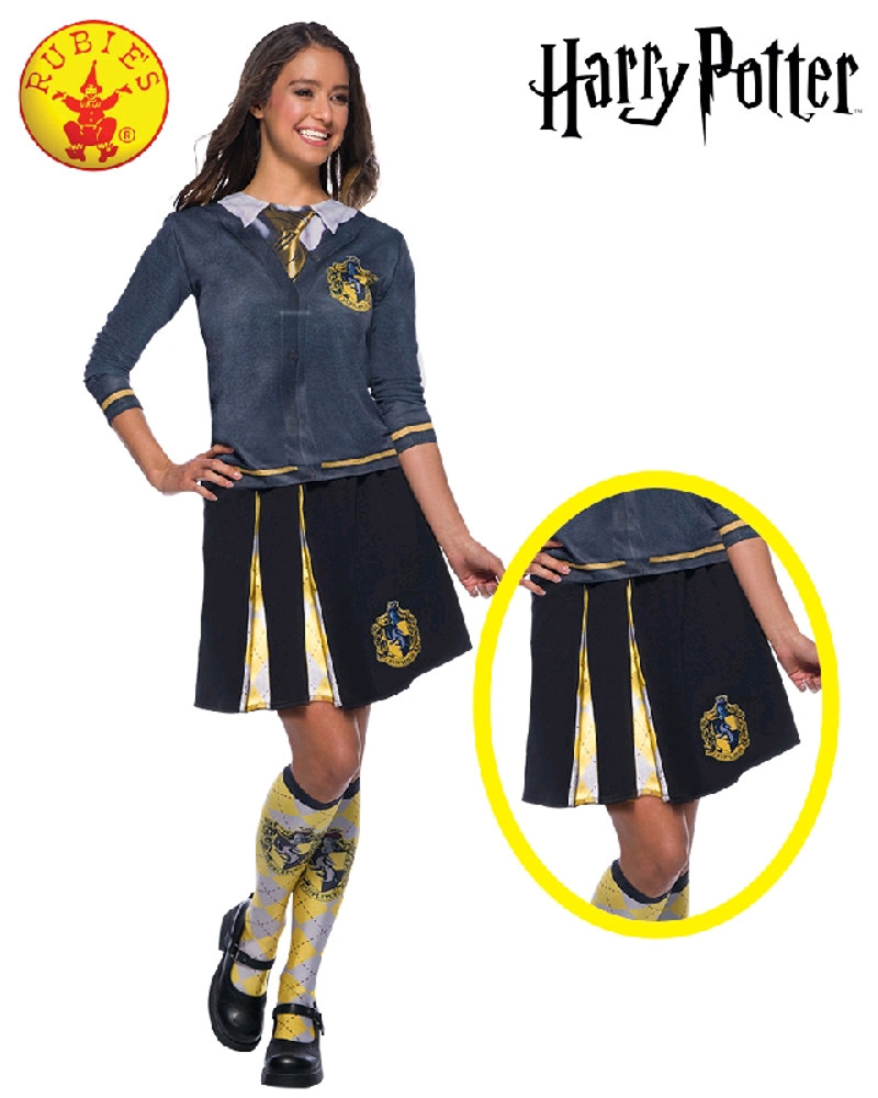 Harry Potter Hufflepuff Adult Skirt