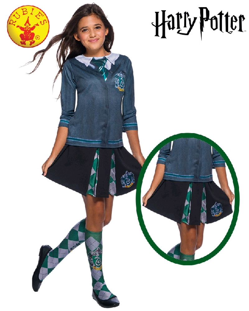 Harry Potter Slytherin Child Skirt