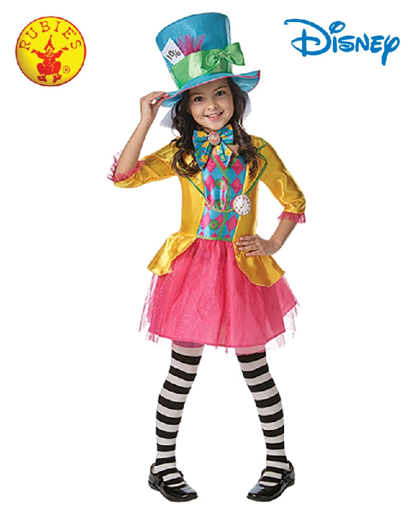 Alice Through the Looking Glass Mad Hatter Girls Costume
