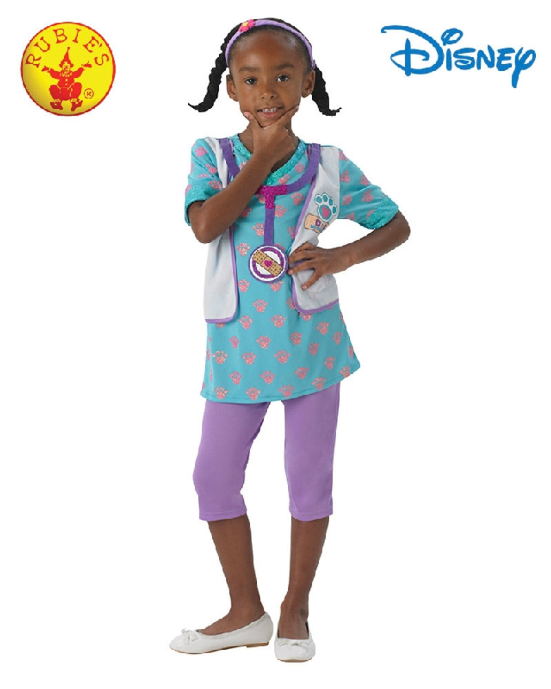 Doc McStuffins Pet Vet Girls Costume