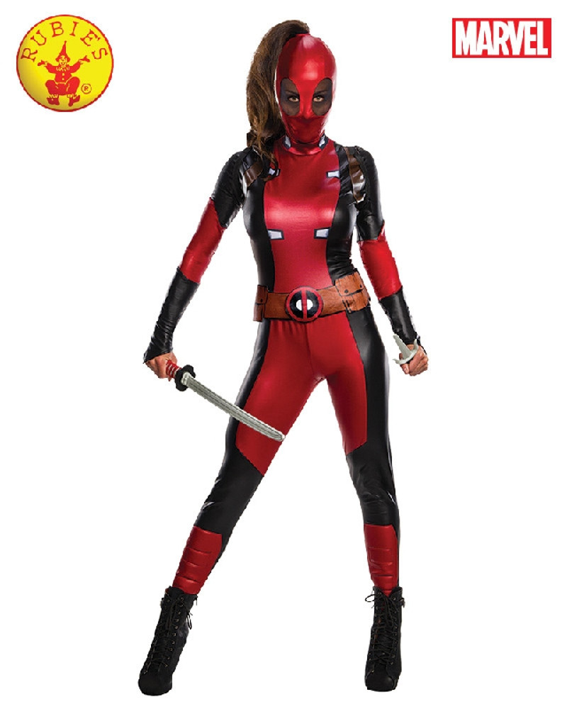 Deadpool Womens Costume