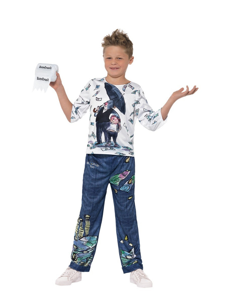 David Wallaims Deluxe Billionaire Boy Costume