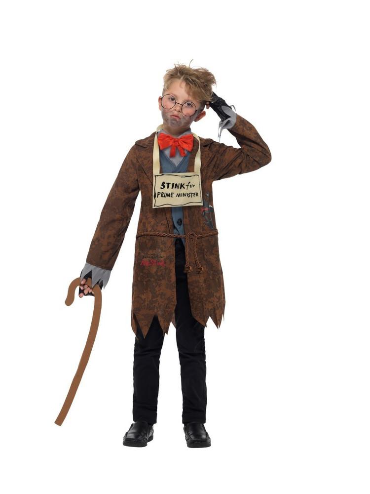 David Walliams Deluxe Mr Stink Kids Costume