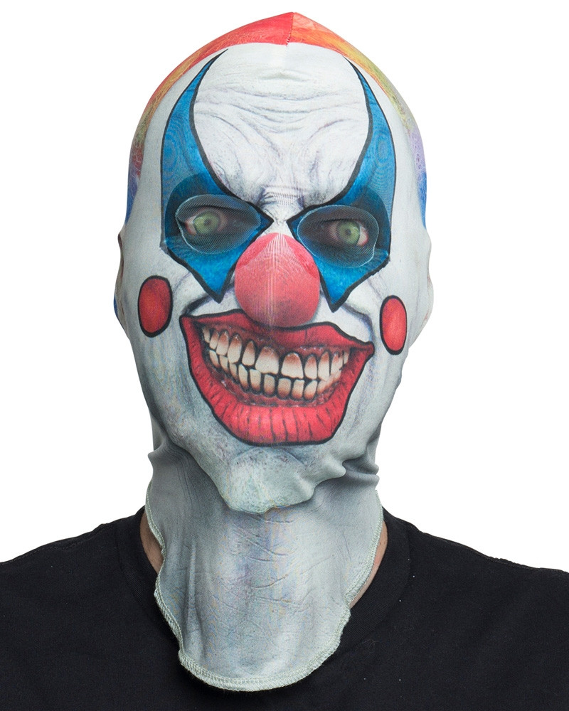 Clown Mask Faux Real