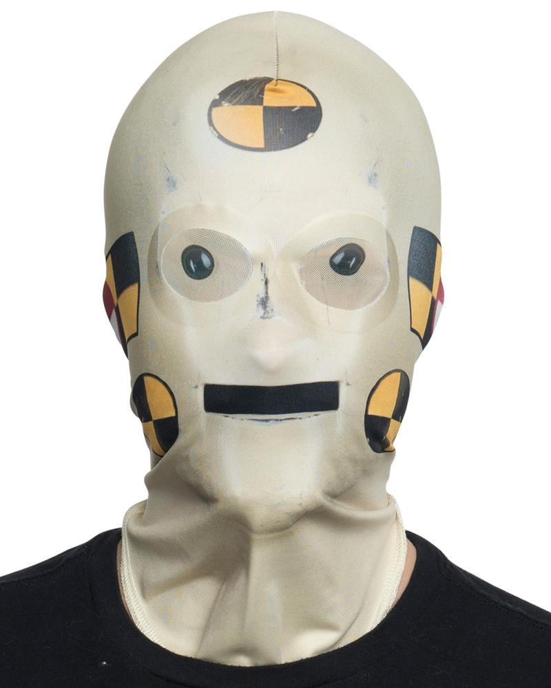 Crash Test Dummy Mask Faux Real