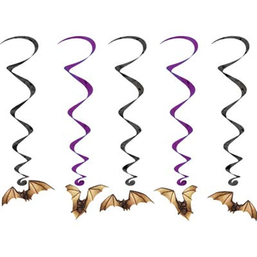 Bat Hanging Whirls