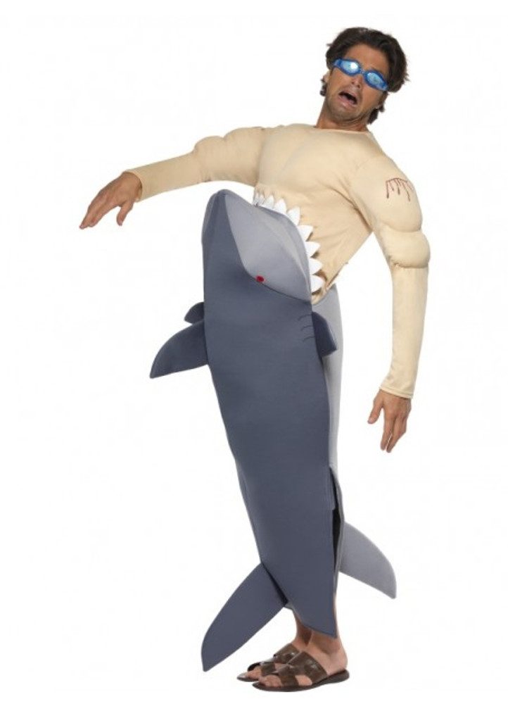 Man Eating Shark Bodysuit & Goggle