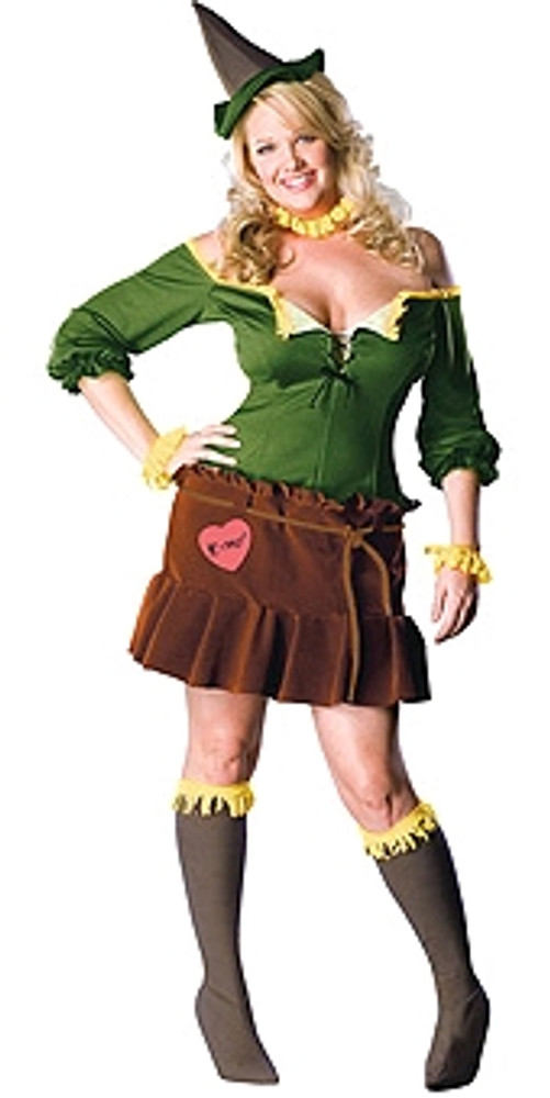 Wizard of Oz Scarecrow Plus Size Womens Costume