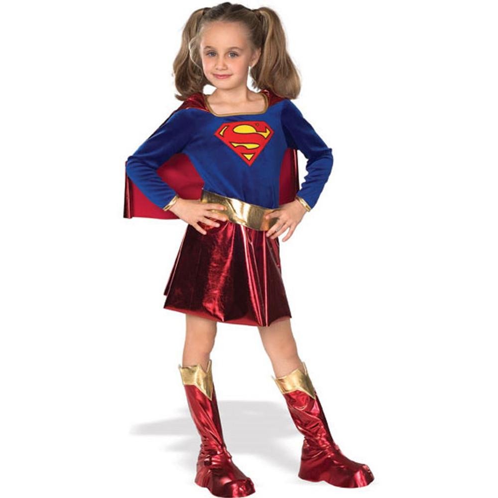 Supergirl Superhero Deluxe Girls Costume