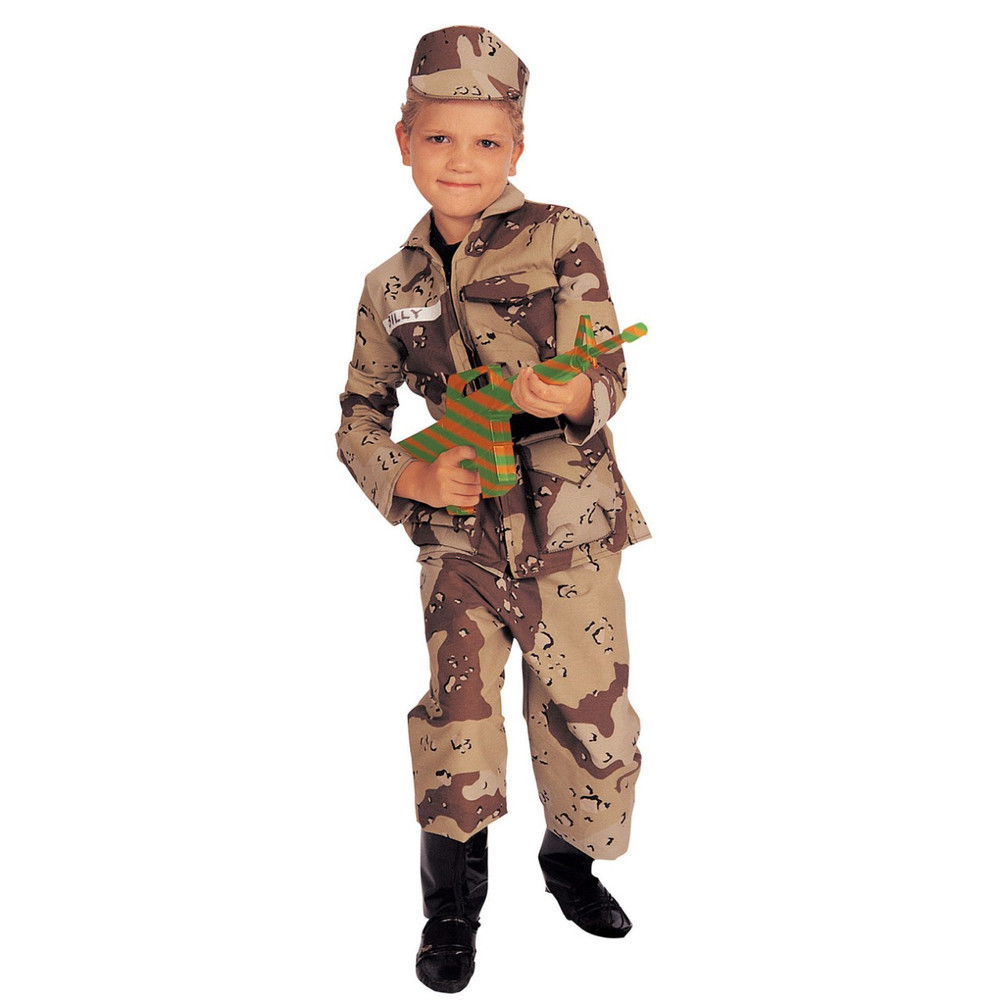 Army Boys Book Week Find Your Treasure Costume