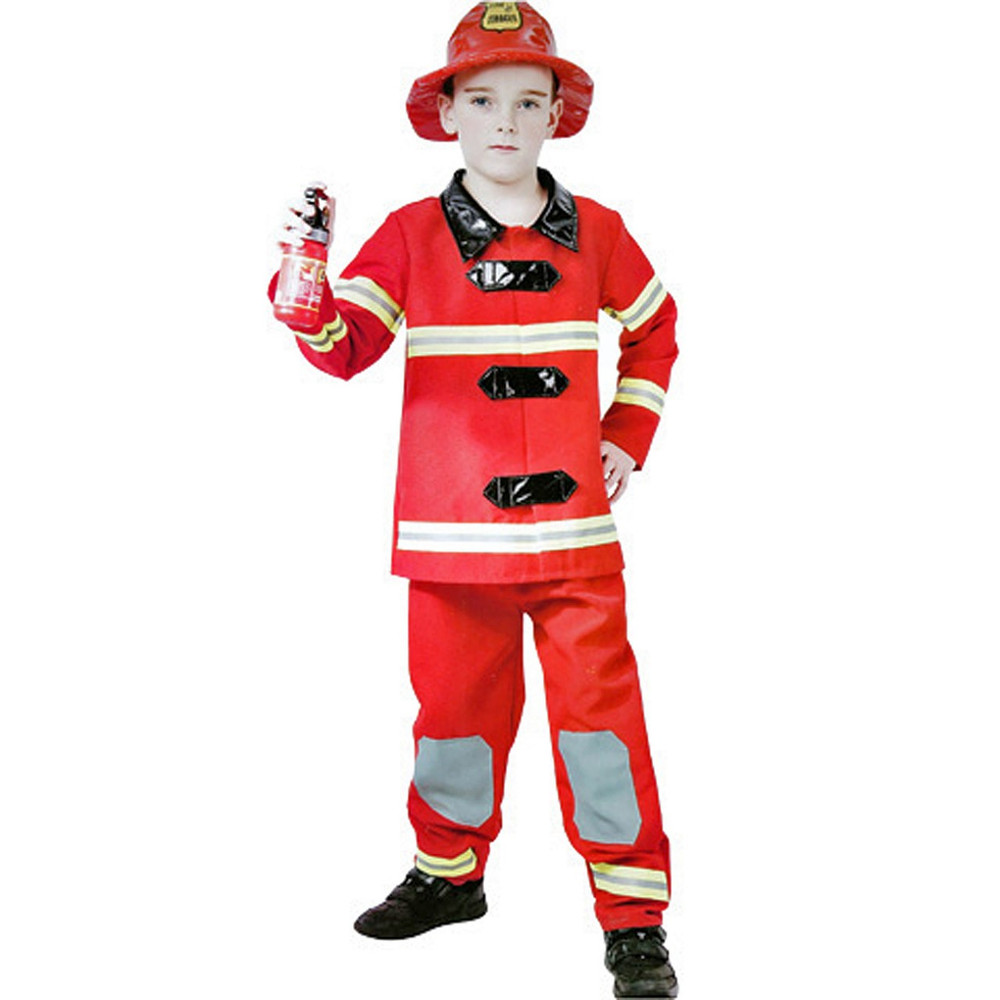 Fireman Fire Fighter Kids Costumes Online Book Week Halloween Afterpay