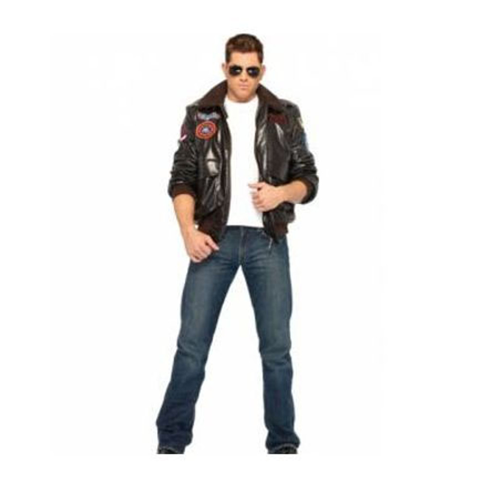 Top Gun Bomber Jacket Mens Costumes Halloween
