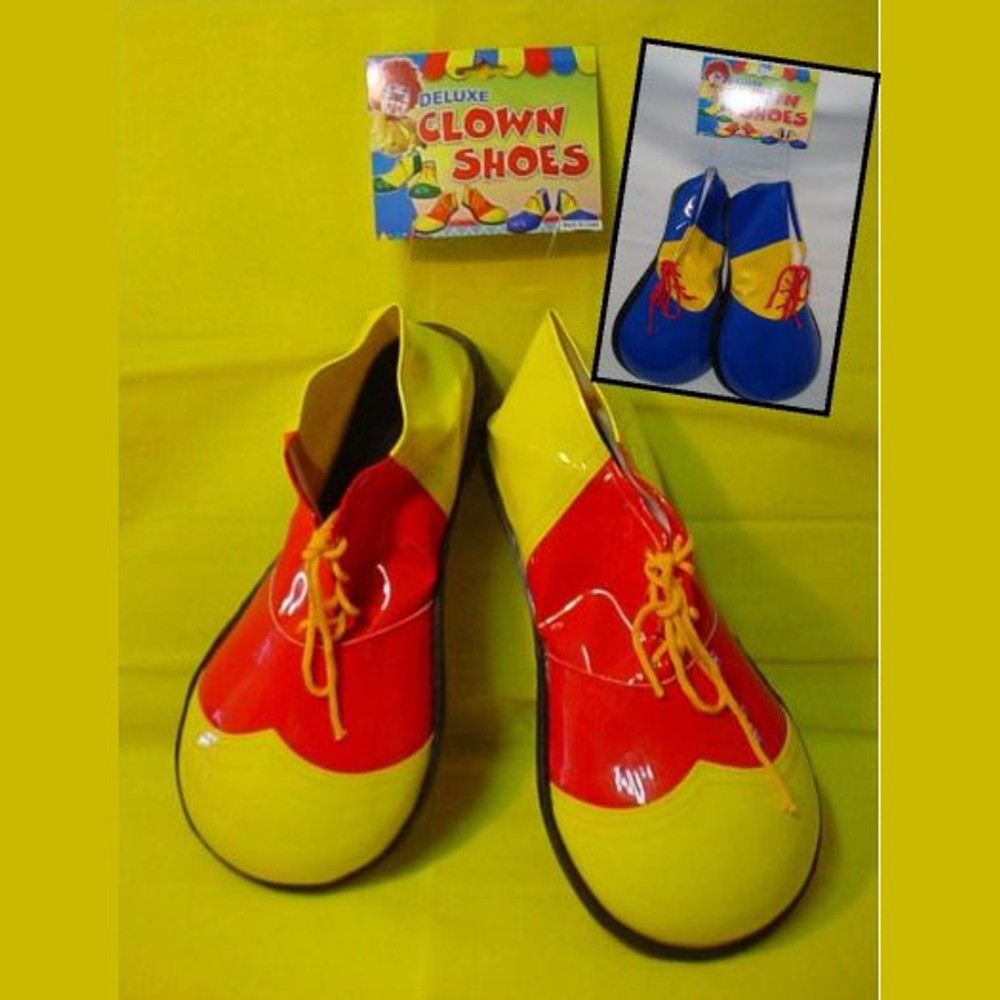 Clown Shoes Red & Yellow