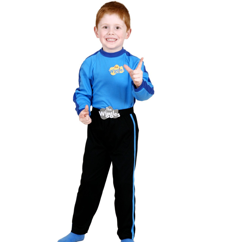 Wiggles Blue Wiggle Toddler Costume