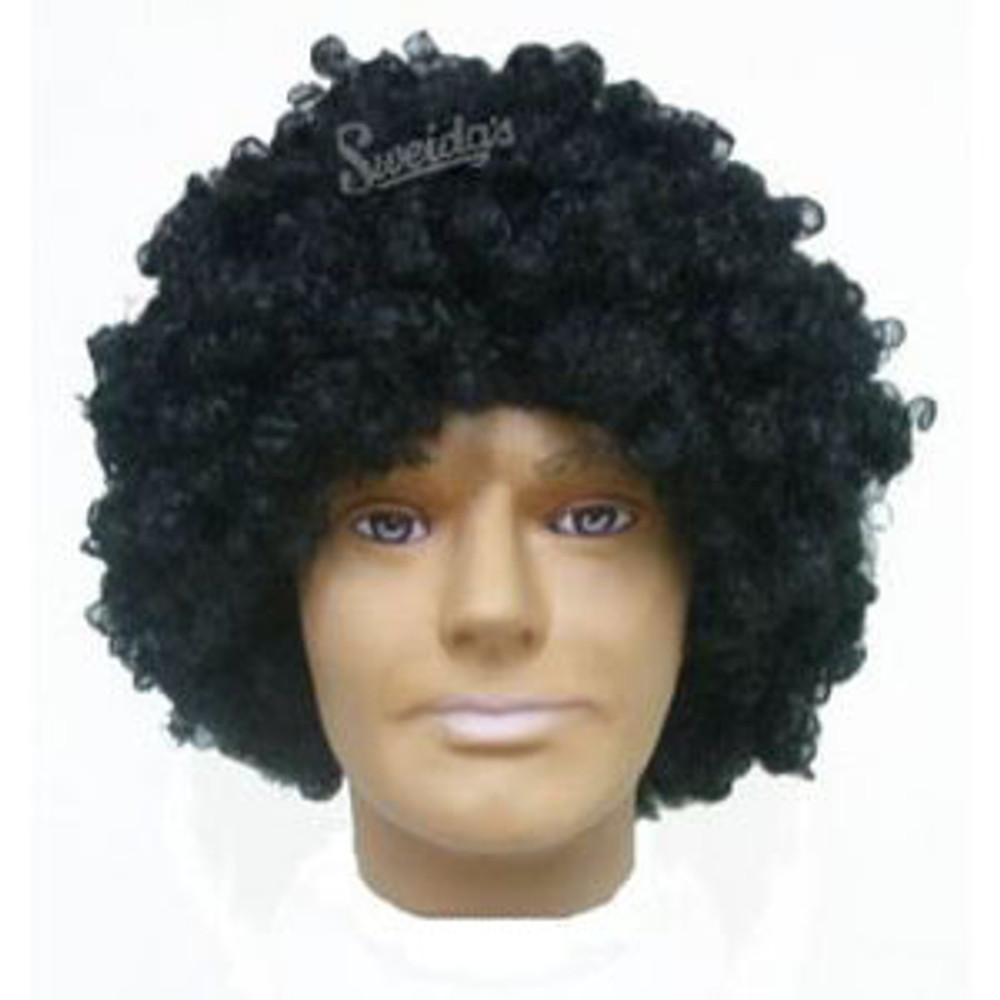 Afro 1970's Wig - Black Hernando/Tom Jones