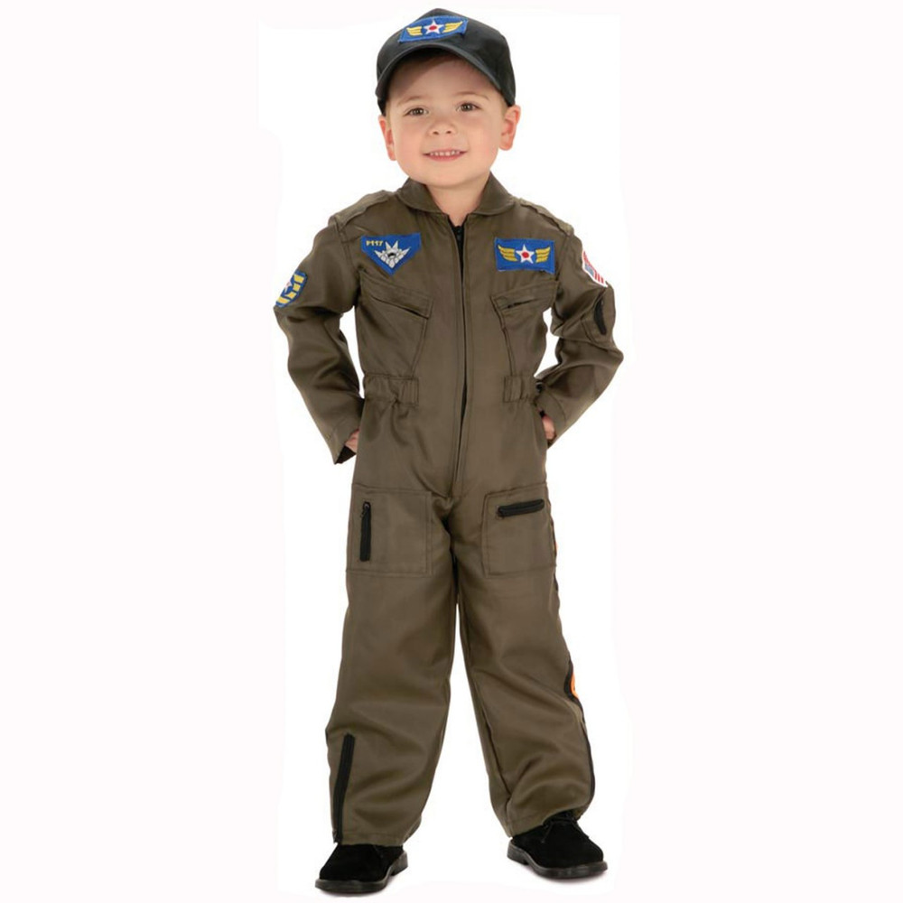 Air Force Fighter Pilot Boys Costume