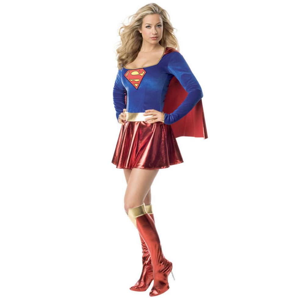 Supergirl Superheros Womens Costumes