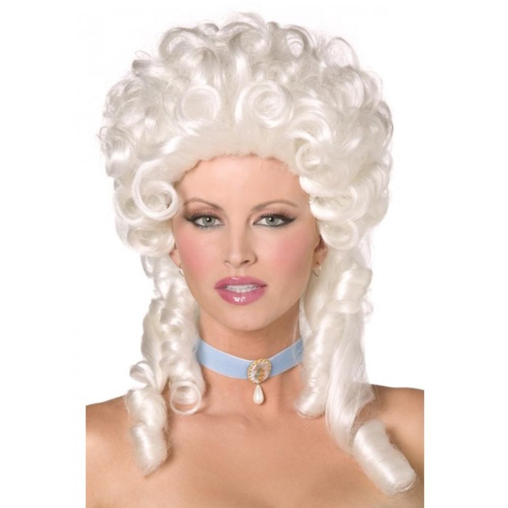 Marie Antionette Baroque Blonde Wig
