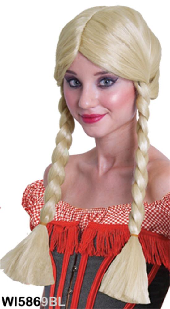 Plaits - Blonde wig