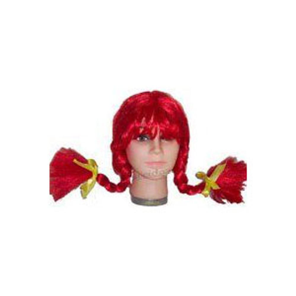 Plaits Pippi Longstockings Wig