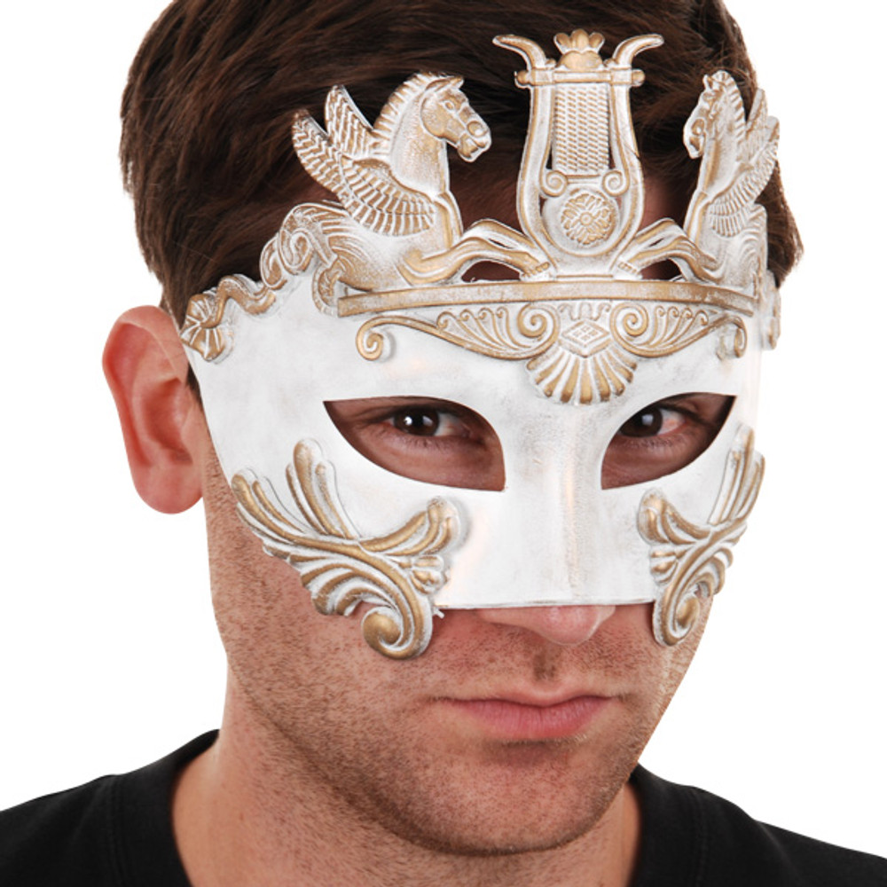 CAVALLI Centurion White & Gold Eye Mask