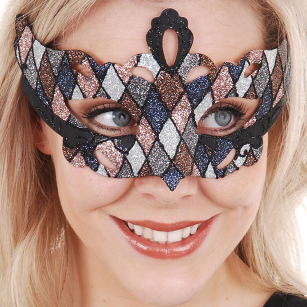 GIOVANNA Glitter Metallic Eye Mask