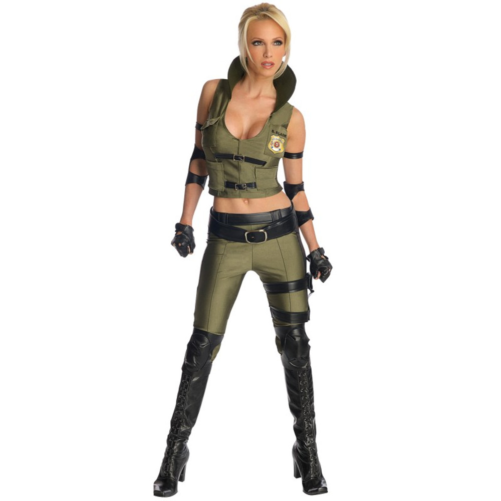 Mortal Kombat Sonya Blade Womens Costume