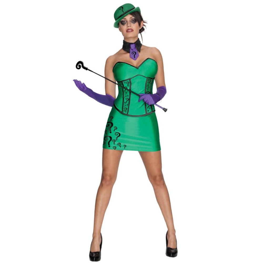 Batman - Super Villain Riddler Womens Costume