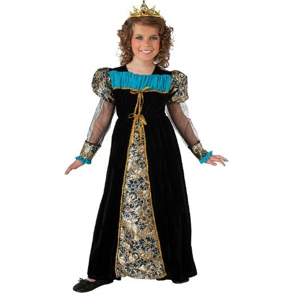 Princess Camelot Black - Girls Costume