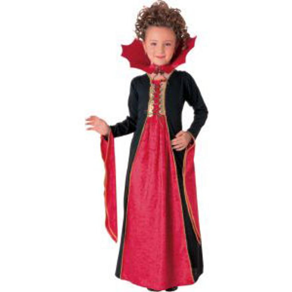 Gothic Vampiress Girls Costume