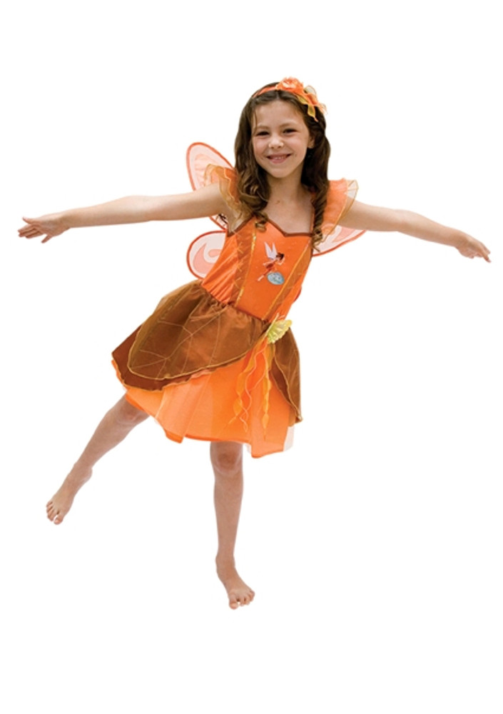 Fawn Crystal Fairy Girls Costume