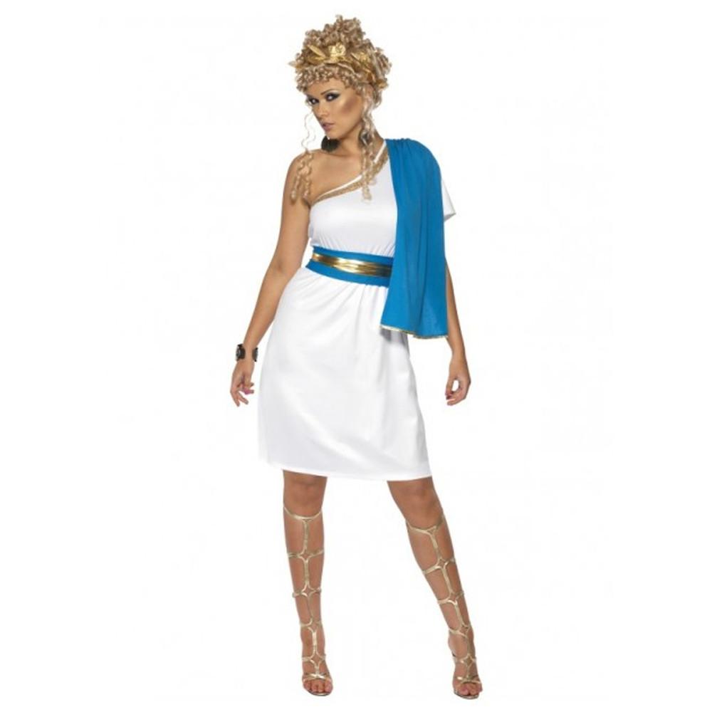 Roman Beauty Toga Womens Costume