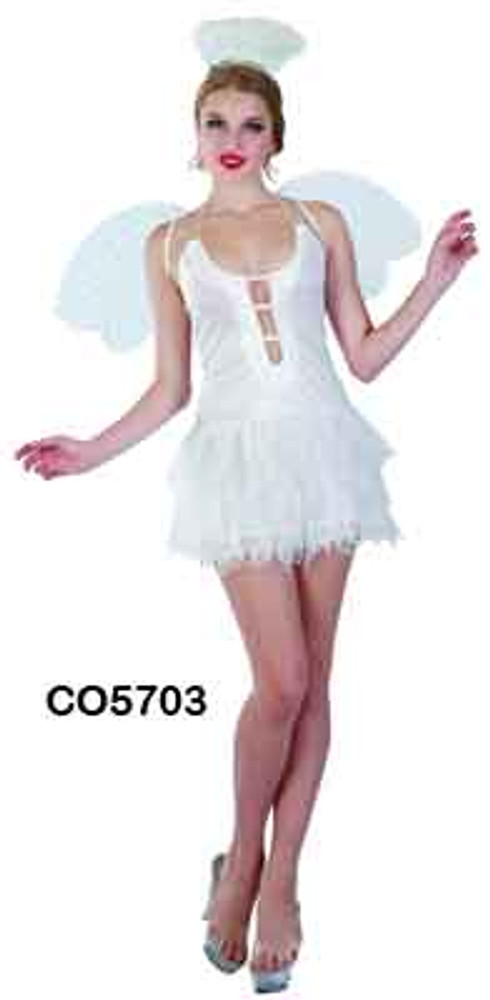 Snow Angel Women's Costume
