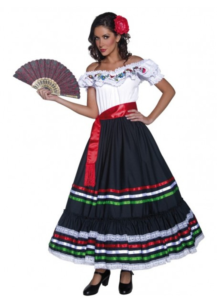 Authentic Western Senorita Women's Costume Online with afterpay