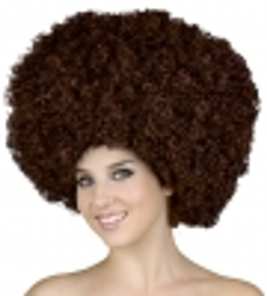 Afro Wig - Brown