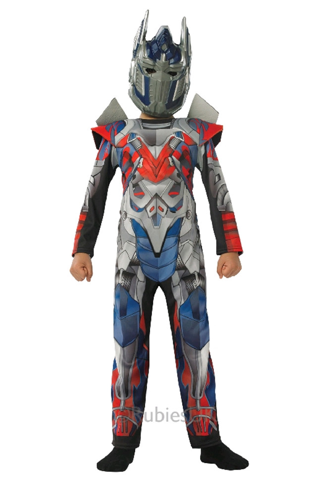 TRANSFORMERS 4 DLX OPTIMUS PRIME Kids Costume